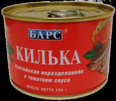 bars kilka tomat