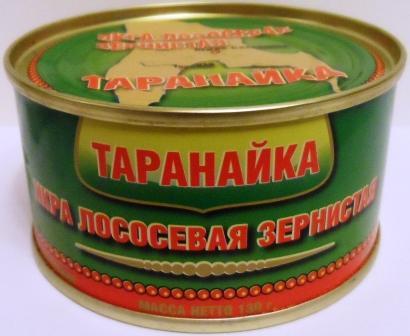 ikra losos taranayka