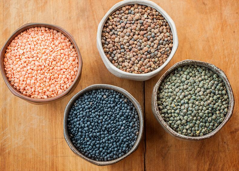 Зерна, какой чечевицы самые полезные